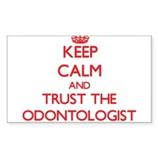 Keep Calm and Trust the Odontologist Decal