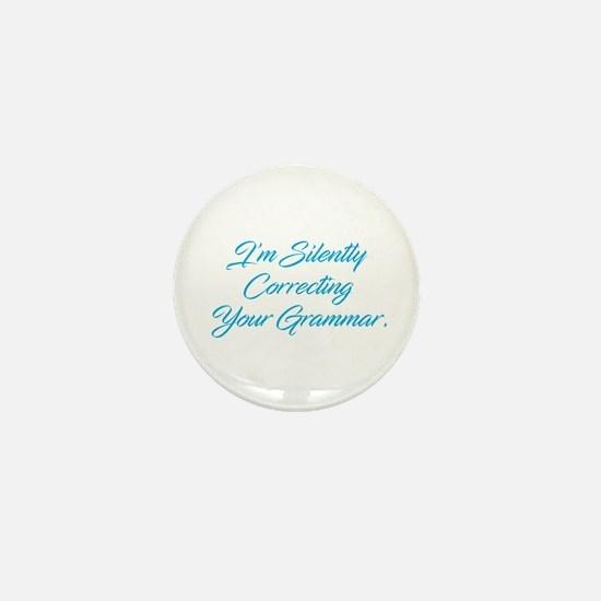 Silently Correcting Grammar Mini Button