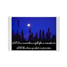 MOONDANCE Rectangle Magnet (10 pack)