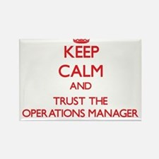 Keep Calm and Trust the Operations Manager Magnets