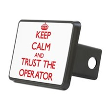 Keep Calm and Trust the Operator Hitch Cover
