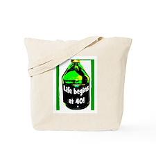 LIFE BEGINS AT 40 #2 Tote Bag