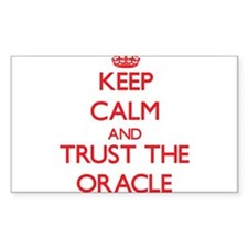 Keep Calm and Trust the Oracle Decal