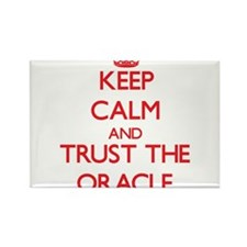 Keep Calm and Trust the Oracle Magnets