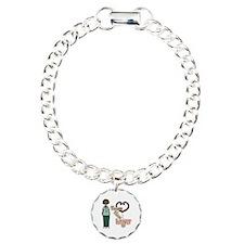 Nurses Have Heart 1 Charm Bracelet, One Charm