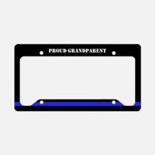Police Thin Blue Line License Plate Holder