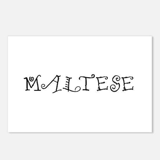 Maltese Postcards (Package of 8)