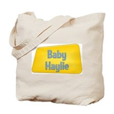 Baby Haylie Tote Bag