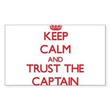 Keep Calm and Trust the Captain Decal