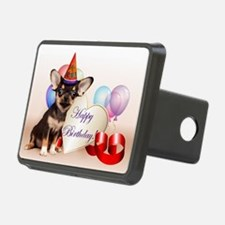 Happy Birthday Chihuahua dog Hitch Cover
