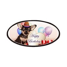 Happy Birthday Chihuahua dog Patches