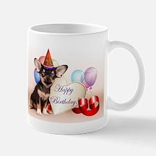 Happy Birthday Chihuahua dog Mugs