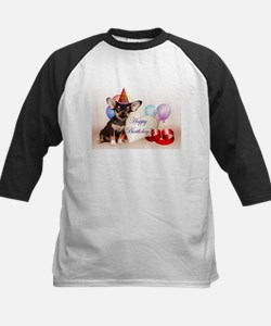 Happy Birthday Chihuahua dog Baseball Jersey