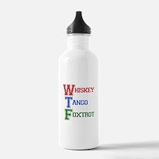 Whiskey Tango Foxtrot Sports Water Bottle