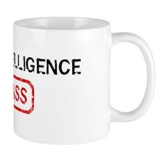 MILITARY INTELLIGENCE kicks a Small Mug