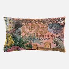 St. Augustine Florida Vintage Collage Pillow Case