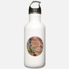 St. Augustine Florida Vintage Collage Water Bottle