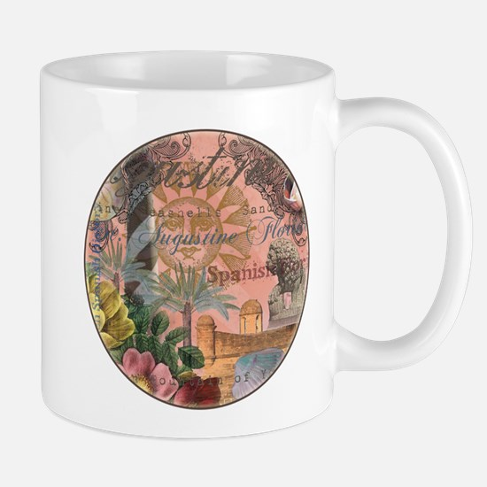 St. Augustine Florida Vintage Collage Mugs