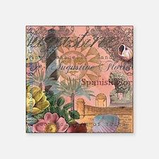 St. Augustine Florida Vintage Collage Sticker