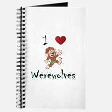 I love werewolves Journal