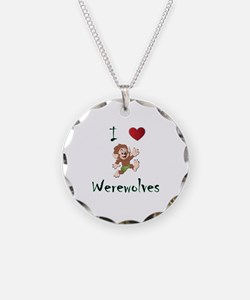I love werewolves Necklace