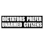 Dictators Prefer Bumper Sticker