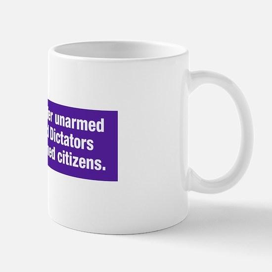 Criminals & Dictators Mug
