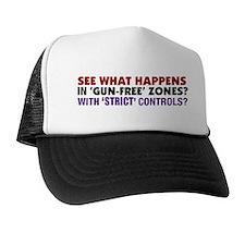 Debunking Gun Control Trucker Cap