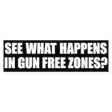 Debunk Gun Control B.S. (Bumper Sticker)