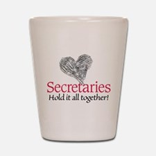 Secretaries Shot Glass