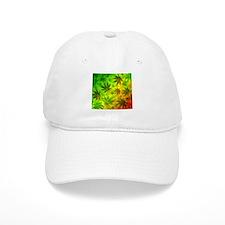 Marijuana Cannabis Leaves Pattern Baseball Baseball Baseball Cap