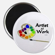Artist at Work Magnet