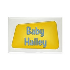Baby Hailey Rectangle Magnet