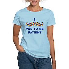 Mustache Autism T-Shirt