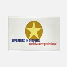 Superhero in disguise Rectangle Magnet