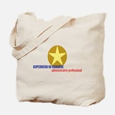 Superhero in disguise Tote Bag