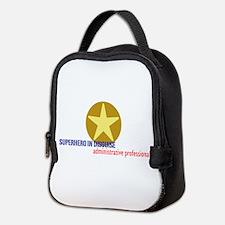 Superhero in disguise Neoprene Lunch Bag