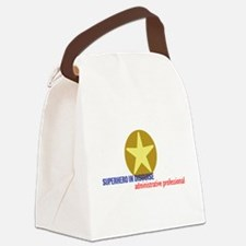 Superhero in disguise Canvas Lunch Bag