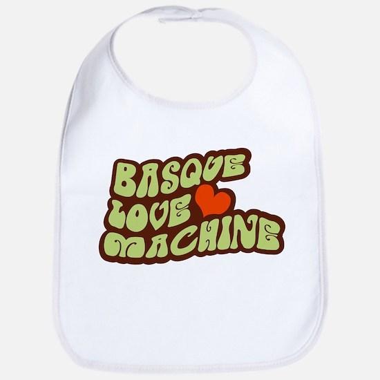 Basque Love Machine Bib