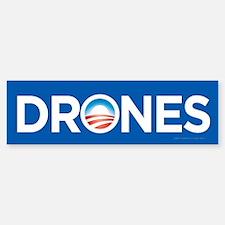 Drones Bumper Bumper Bumper Sticker