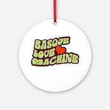 Basque Love Machine Ornament (Round)