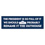 Rename the White House Bumper Sticker