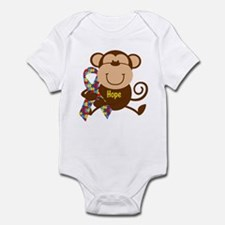 Monkey Autism Hope Infant Bodysuit