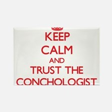 Keep Calm and Trust the Conchologist Magnets