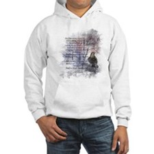 The Raven Edgar Allen Poe Poem Hoodie Sweatshirt