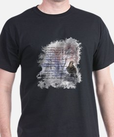 The Raven Edgar Allen Poe Poem T-Shirt