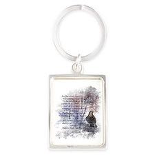 The Raven Edgar Allen Poe Poem Keychains