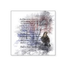 The Raven Edgar Allen Poe Poem Sticker