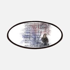 The Raven Edgar Allen Poe Poem Patches