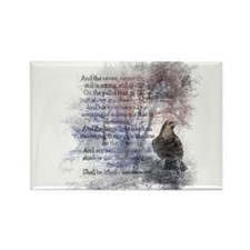 The Raven Edgar Allen Poe Poem Magnets